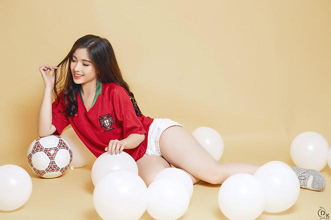 Hot girl Việt từng có scandal với Ronaldo dự đoán Bồ Đào Nha - Tây Ban Nha - 1