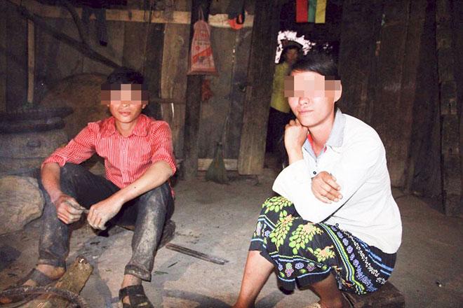 """Những đứa trẻ bị """"giời hành"""" ở Hà Giang - 1"""
