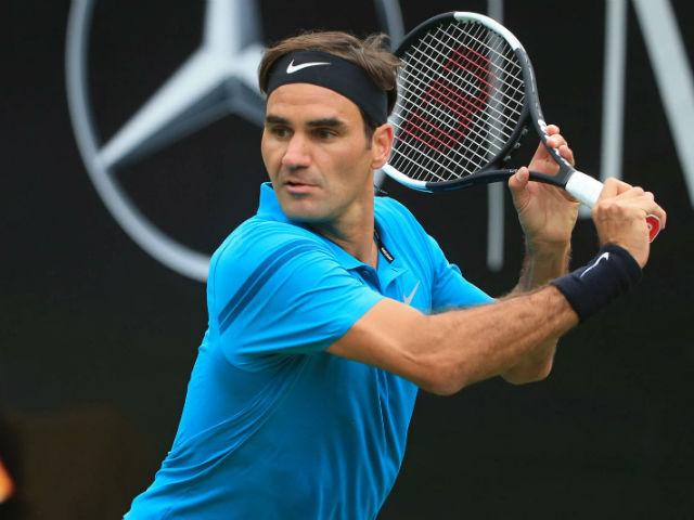 Federer - Pella: Giao bóng tuyệt đỉnh, 2 set như 1 (Tứ kết Stuttgart Open)