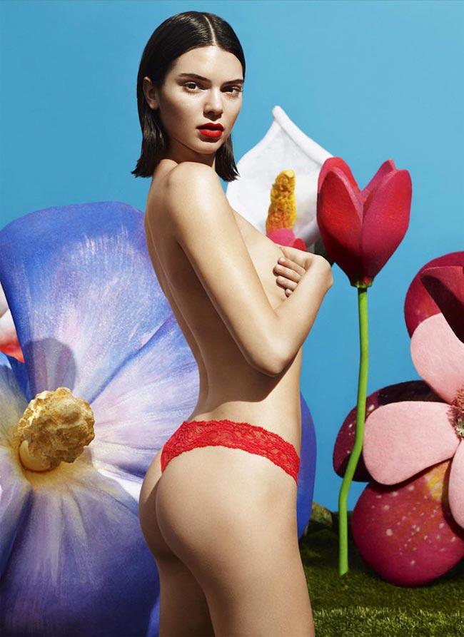 Siêu mẫu hot nhất thế giới hiện nay, Kendall Jenner cũng lọt vào bảng xếp hạng như một điều hiển nhiên.