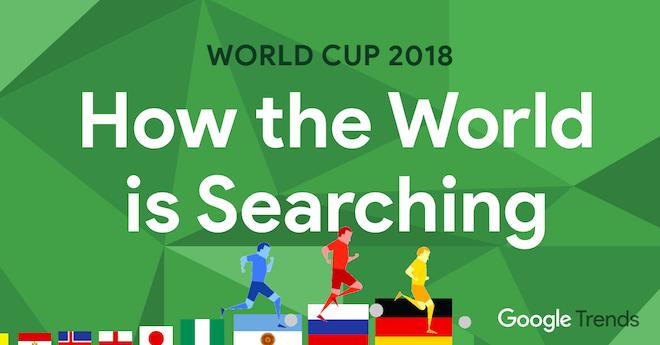 Các từ khóa liên quan World Cup 2018 thống trị bảng xếp hạng tìm kiếm của Google - 1