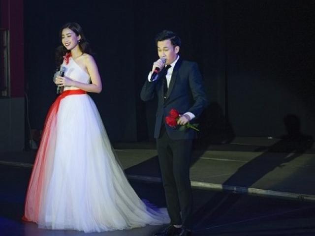 Hoa hậu Mỹ Linh đẹp tựa nữ thần, lần đầu khoe giọng hát đầy cảm xúc
