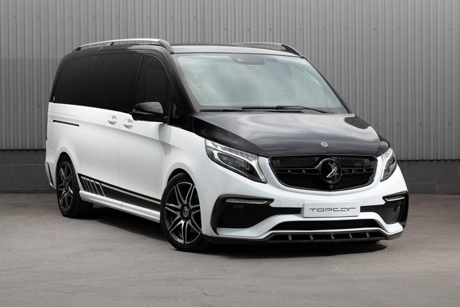 TopCar ra mắt gói độ hơn 440 triệu đồng cho Mercedes-benz VClass - 1