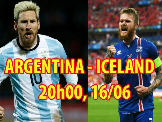 """Bảng D World Cup Argentina – Iceland: Ronaldo thách đấu, Messi quyết """"bung lụa"""""""