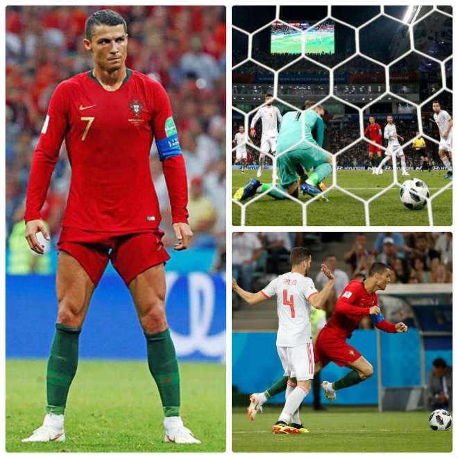 """Ronaldo hat-trick thần thánh: """"Vấp cỏ"""", """"ăn may"""" cũng thành nghệ thuật - 1"""
