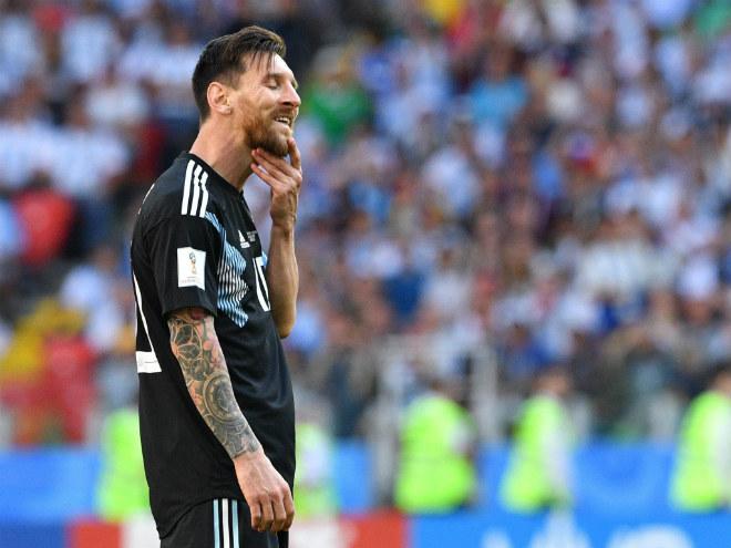 """Argentina vấp """"đá tảng"""" Iceland: Messi hỏng 11m & 11 pha dứt điểm đáng quên - 1"""