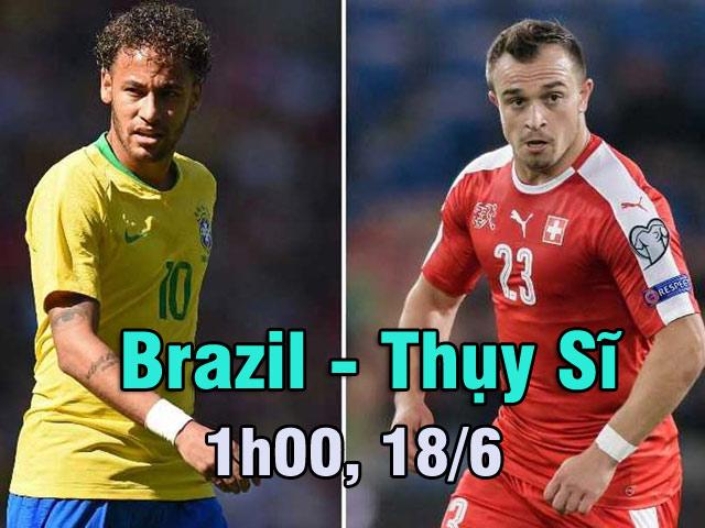 """Brazil – Thụy Sĩ: """"Vết xe đổ"""" Messi – Argentina, Neymar gỡ """"xiềng xích"""""""