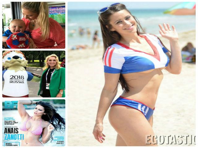 """Mỹ nhân """"cuồng"""" World Cup: Kournikova triệu like, cô nàng nhảy dù đẹp mê hồn"""