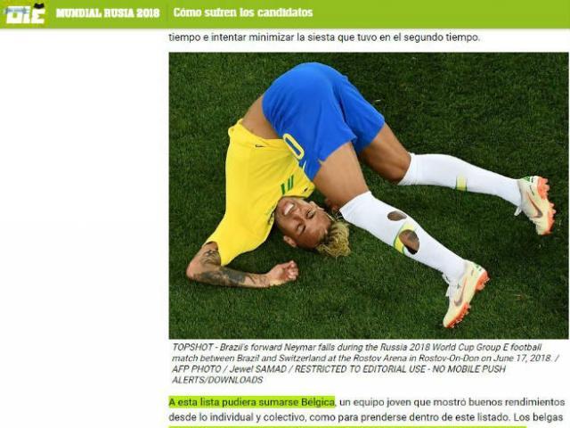 Brazil hòa như thua: Báo quê nhà vẫn bênh Neymar, chê đối thủ chơi xấu