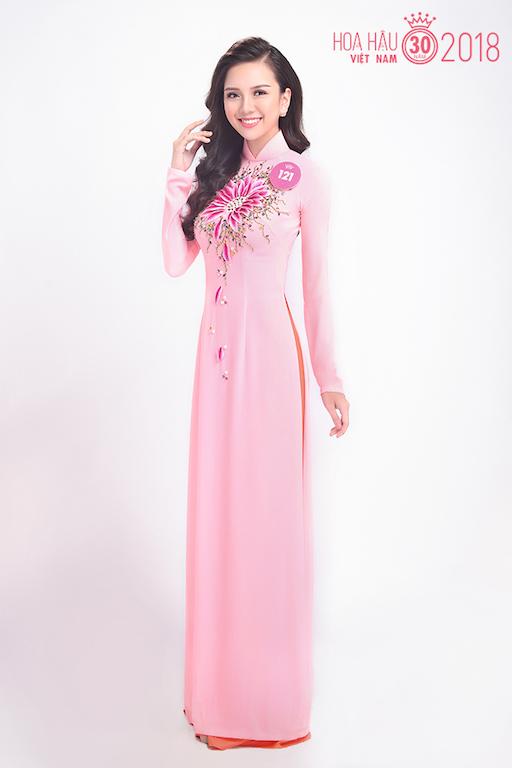 Nhan sắc vừa qua tuổi trăng tròn của thí sinh Hoa hậu Việt Nam - 1