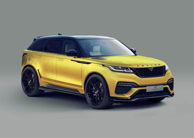 """Range Rover Velar cực """"ngầu"""" với gói độ thân rộng Aspire Design - 1"""