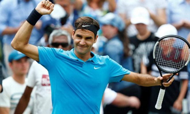 Federer vô địch Stuttgart: Thị uy sức mạnh sân cỏ với Nadal - 1