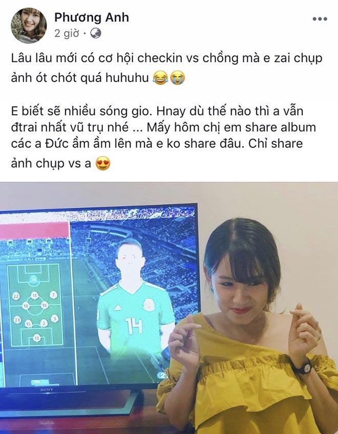 """Mỹ nhân làng game Việt """"trúng tiếng sét ái tình"""", muốn khóc theo Chicharito - 1"""