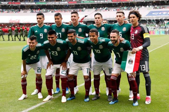 ĐT Mexico: Từ rúng động thác loạn với 30 chân dài đến thắng sốc Đức - 1