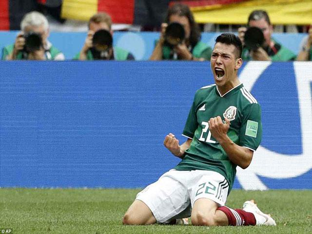 """Góc chiến thuật Đức - Mexico: 3 """"quả bộc phá"""", cao tay hạ nhà Vua"""