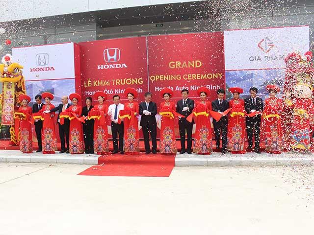 Honda Việt Nam khai trương Đại lý ôtô đạt tiêu chuẩn 5S thứ 29 trên toàn quốc: Honda Ôtô Ninh Bình