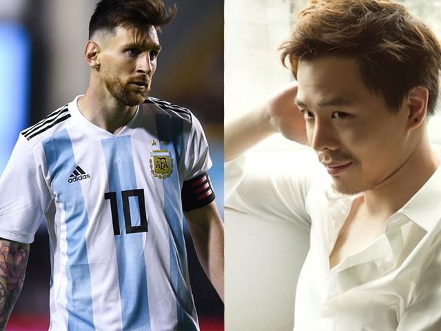 Tranh cãi nảy lửa khi Trịnh Thăng Bình chê Messi không bằng lão tướng