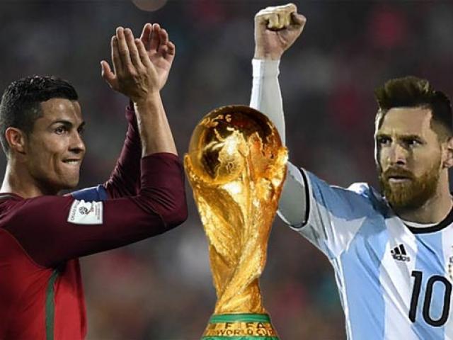 Messi dưới tầm Ronaldo ở World Cup: Đen thôi, đỏ quên đi!