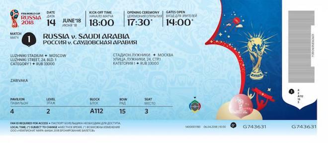 Công nghệ bảo mật của tấm vé vào sân xem World Cup 2018 có gì đặc biệt? - 1