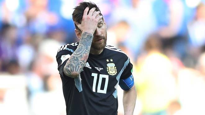Messi dưới tầm Ronaldo ở World Cup: Đen thôi, đỏ quên đi! - 1