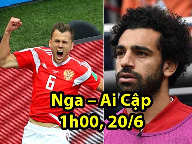 World Cup Nga – Ai Cập: Sức mạnh chủ nhà, Salah đang ở đâu?