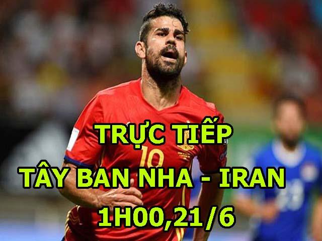 TRỰC TIẾP World Cup Tây Ban Nha - Iran: TBN thoát hiểm trong gang tấc (KT)