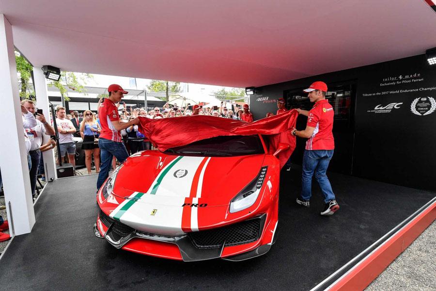 Ferrari 488 Pista ''Piloti Ferrari'' trình diện với vẻ đẹp quyến rủ - 1