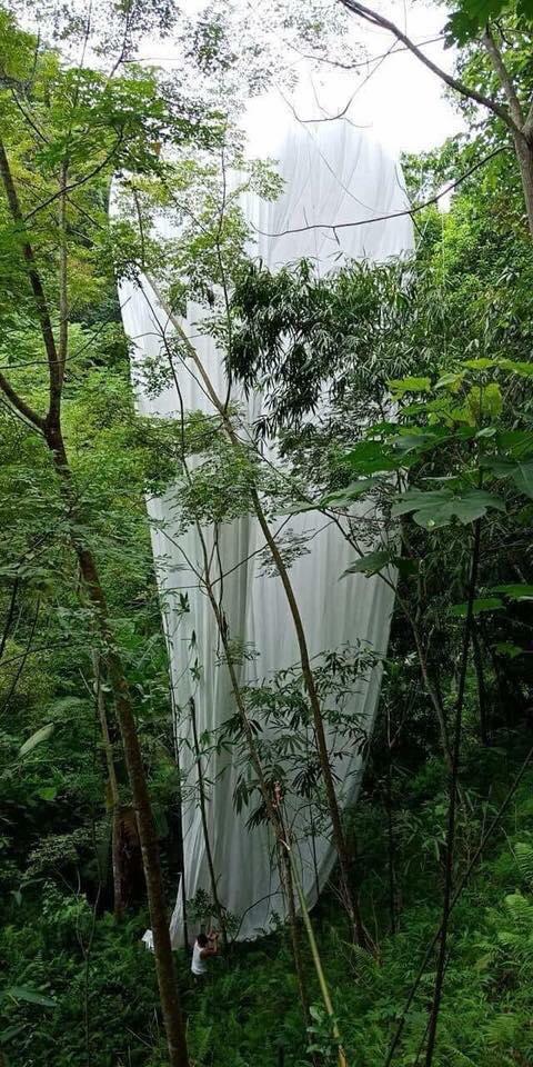 """Hà Giang: Phát hiện vật thể """"lạ"""" phát sáng rơi xuống rừng - 1"""