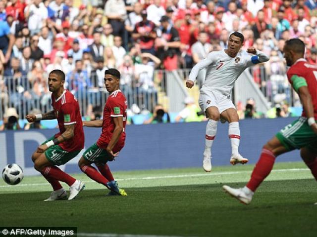 """Ronaldo lại rực sáng: Thiết lập """"ngôi sao thứ 4"""" tại World Cup 2018"""