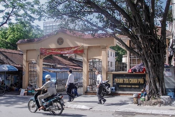 Bên trong khu đất trụ sở cũ của Thanh tra Chính phủ sắp thành cao ốc - 1