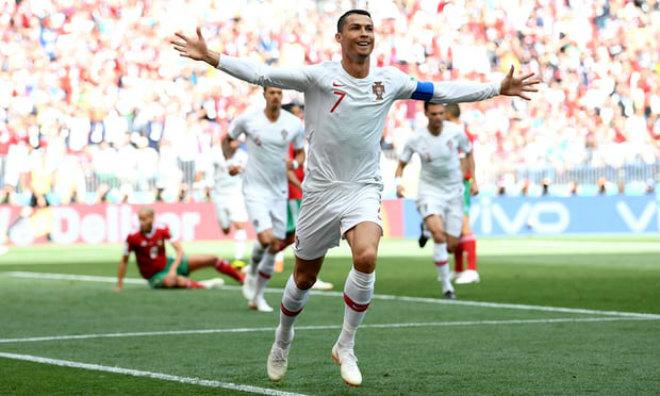 """Bồ Đào Nha - Morocco: Ronaldo rực sáng, """"người nhện"""" siêu đẳng (World Cup 2018) - 1"""