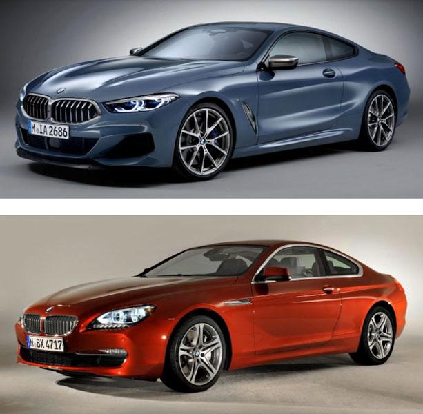 So sánh thiết kế BMW 8-Series Coupe 2019 và 6-Series Coupe đã bị khai tử - 1