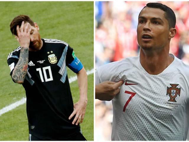 """""""Vua"""" Ronaldo công thủ toàn năng: Gọi 4 cuộc, Messi không nhấc máy?"""