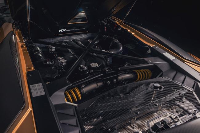Động cơ V12 6.5L hút khí tự nhiên.