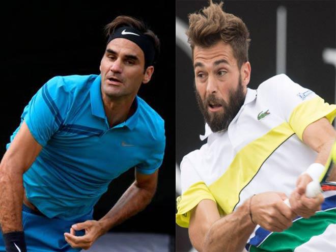 Federer - Paire: Kịch chiến căng thẳng (Vòng 2 Halle Open) - 1