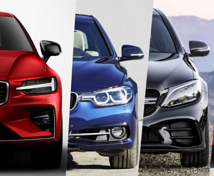 So sánh thiết kế của Volvo S60 2019 với BMW 3-Series, Mercedes C-Class và Audi A4 - 1