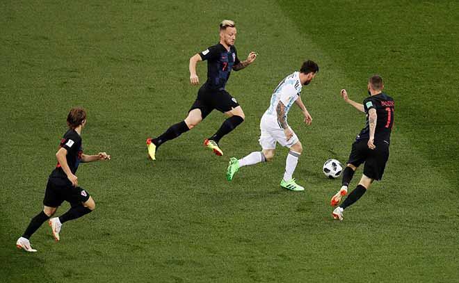 Croatia hủy diệt Á quân World Cup, Argentina - Messi phai mờ giấc mơ - 1