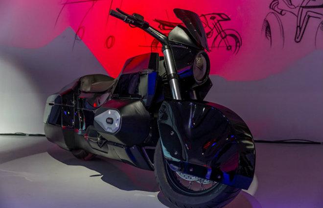 Hé lộ môtô khổng lồ hộ tống Tổng thống Putin trong tương lai - 1