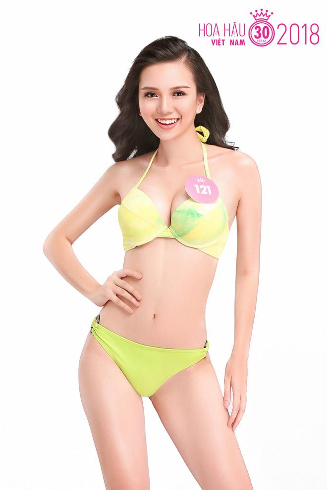 Chi tiết số đo 3 vòng của thí sinh Hoa hậu Việt Nam - 1