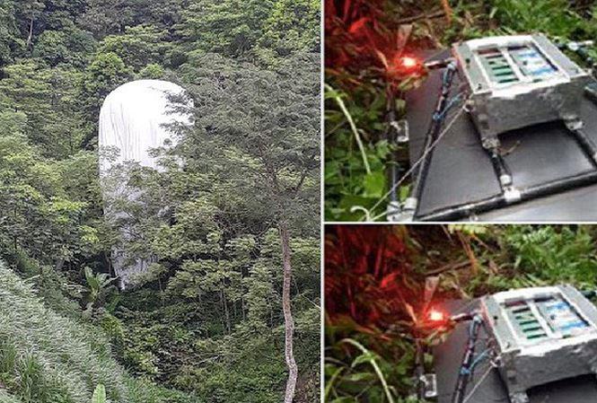 """Tin mới vụ phát hiện """"vật thể lạ"""" phát sáng rơi xuống rừng ở Hà Giang - 1"""