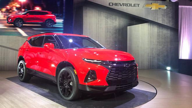 """Chevrolet Blazer 2019 chính thức """"hồi sinh"""" sau 13 năm: Tiền thân của mẫu Traiblazer đang bán tại Việt Nam - 1"""