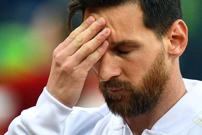 Chấn động World Cup 2018: Messi lại từ giã Argentina, tính khoác áo Catalunya? - 1