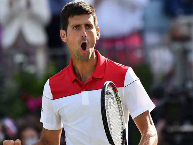 Djokovic - Mannarino: Nhập cuộc tưng bừng, rã rời cuối trận (Tứ kết Queen's Club) - 1