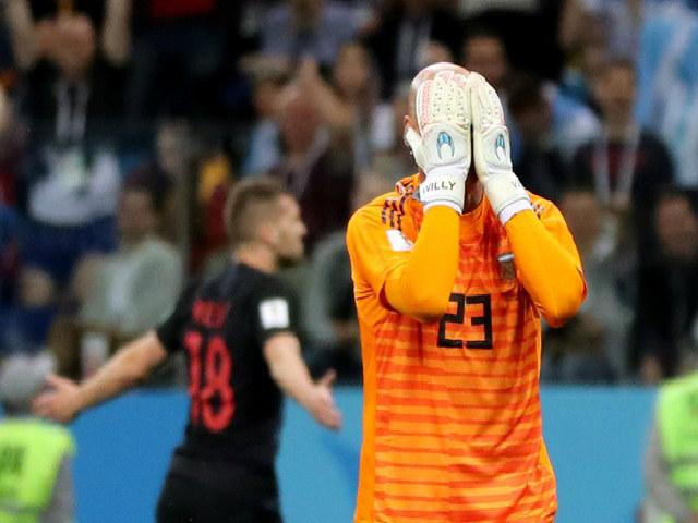 """Đại thảm họa thủ môn World Cup 2018: """"Thánh"""" De Gea, Caballero thành trò hề"""