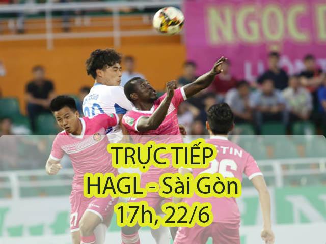 TRỰC TIẾP HAGL – Sài Gòn: Công Phượng nổi bật, bắn phá dồn dập