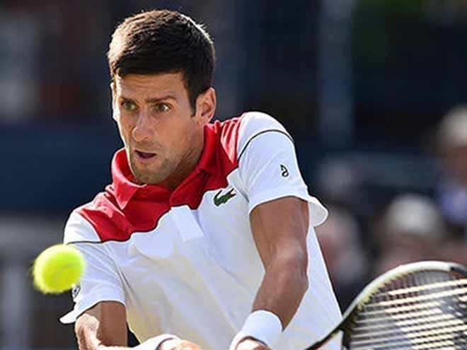 Djokovic - Dimitrov: Áp đảo dữ dội, dứt vận hạn 18 tháng (Vòng 2 Queen's Club) - 1