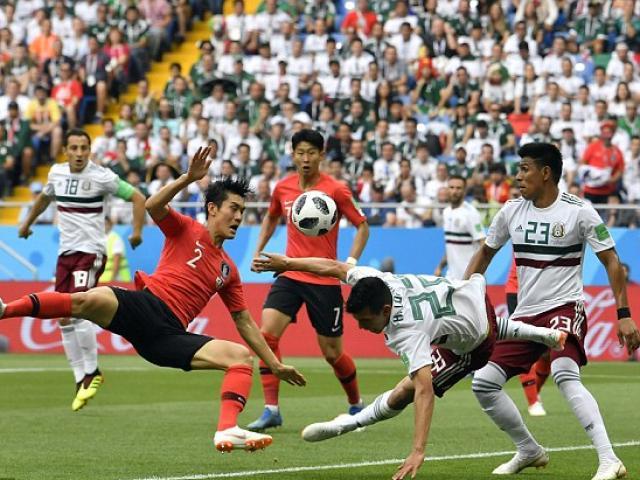 Hàn Quốc - Mexico: Đôi công rực lửa, siêu phẩm cuối trận (World Cup 2018)