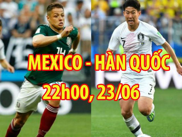 """Mexico – Hàn Quốc: """"Hổ châu Á"""" cùng đường, quyết vồ """"đậu nhỏ"""""""