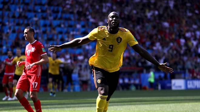 Siêu sao World Cup: Bỉ thăng hoa Lukaku bùng nổ, ngang bằng Ronaldo - 1