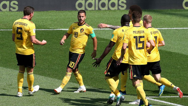 """Bỉ - Tunisia: Đại tiệc 7 bàn, rực rỡ """"song tấu"""" MU - Chelsea (World Cup 2018) - 1"""